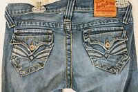 LUCKY BRAND Lil' Maggie Jeans Womens Boot Cut Embroidered Pockets Size 2/26