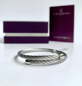 Charriol * Bangle Celtic Sceau Silver Stainless Steel & Titanium 04-101-00144-1S