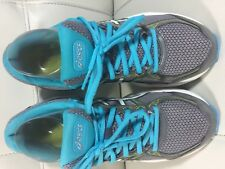 ASICS Women's Gel-Exalt 3 Running Shoe Aluminum/White/Aquarium  Sz US 8 EUR 39.5