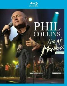 Phil Collins - Live At Montreux 2004 (NEW BLU-RAY)