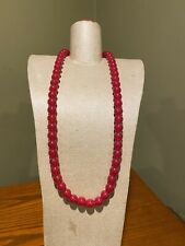 Gymboree Cherry Beaded Necklace