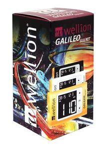 Galileo Blutzucker/Keton-Messgerät mg/dl plus 10-210 BZ-Teststreifen - neu+OVP