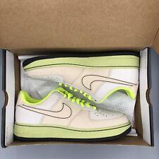 quality design f428a 5bd4c Nike Air Force One 1 Toronto Bone Volt Linen Size 10 315180 002 Jordan Retro  I