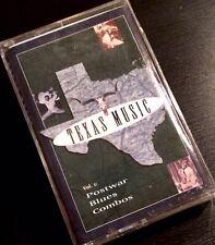 TEXAS MUSIC Volume 1 Post-War Blues Combos (Cassette Tape, Rhino) NEW