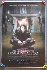 """""""The Girl With The Dragon Tattoo"""" Original 2009 1SH Movie POSTER 27""""x40"""" LARSSON"""