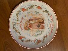World Of Beatrix Potter Peter Rabbit 1996 Merry Christmas Wedgwood Plate