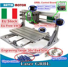 【ITA】3018 cnc router kit mini engraver incisione fresatura milling laser machine