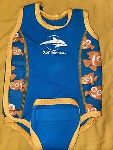 Konfidence Baby Body Warmer Babywarma Swim Jacket 0-6 Months Wetsuit