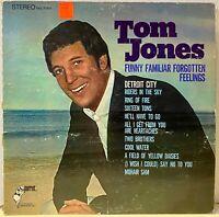"""TOM JONES: funny familiar forgotten feelings PARROT 12"""" LP"""
