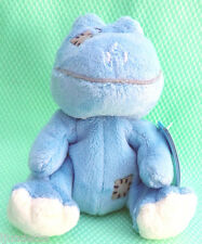 "My Blue Nose Friends *-* PELUCHE sans tag GRENOUILLE 4"" 10 cm"