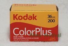 3 Rolls Kodak Colorplus 200 35mm Color Film 135/36