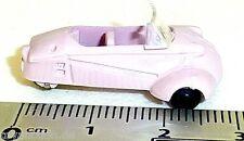 Cabriolet KR200 Rosa Antico Bubble Car Messerschmitt Imu 1:87 H0 HM2 Å