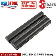 New listing 87Wh T54Fj Battery for Dell Latitude E6430 E6420 E6520 E6530 8858X Ykf0M