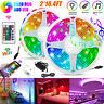 33FT RGB 600 LED Strip Lights WiFi APP Control Music Sync for Alexa Google+Power