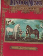 Illustrated London News Christmas 1954 The Golden Cockerel Neave Parker