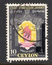CEYLON = POSTMARK - QE2 era. `MALWATTAI` 1958 cancel. Rural Village.
