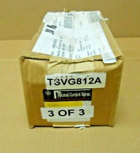 1 NIB GE TSVG812A NEUTRAL CURRENT SENSOR GROUND FAULT 1200 600 AMP (2 AVAILABLE)