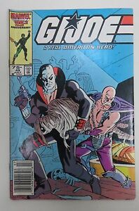 GI Joe Vol. 1 No.49 July 1986 Very Good Condition Marvel Comics