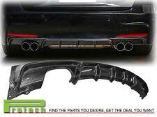 BMW 2012+ F30 M Sport Performance Sedan Wagon Carbon Fiber Bumper Diffuser Quad