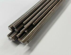 Threaded Rod Studding M2 M2.5 M3 M4 M5 M6 Stainless Steel Screw Various Lengths