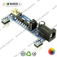 MB102 Breadboard Power Supply Module 3.3V 5V For Solderless Arduino Converter UK