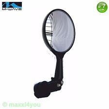 W01240101 M-Wave Fahrradspiegel klein gewölbt Fahrrad Spiegel Rückspiegel