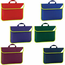 Quadra Book Bag Enhanced-Viz Child School Satchel Reflective Soft Carry - QD452