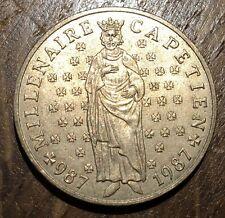 PIECE DE 10 FRANCS CAPÉTIENS 1987 COMMÉMORATIVE (213)