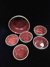 Vintage Australian Pottery Dyson Studio Small Bowls and Dish