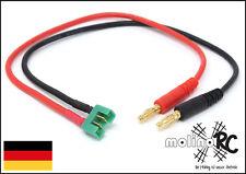 Akku Ladekabel - Bananenstecker kompatibel mit MPX Multiplex male Charging Cable