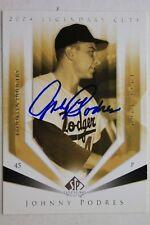 Brooklyn Dodgers Johnny Podres Autograph Signed 2004 SP Legendary Cuts Card #61