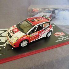 599E Citroën C2 S1600 Meeke Rallye Monte Carlo 2005 # 35