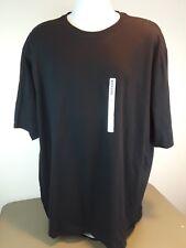 NWT Jerzees Men's 100% Cotton Solid Soft  Short Sleeve Comfy Black XXL T-Shirt