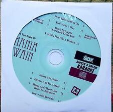 SHANIA TWAIN KARAOKE COUNTRY CDGM CD+G MULTIPLEX 8+8 - SDK9005