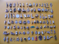 Y VINTAGE STERLING SILVER CHARM CHARMS CAR PHONE DRESS BOOT HORN KEY PRAM WELL