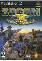 SOCOM: U.S. Navy SEALs ps2 PlayStation 2 Game Disc Only 33e