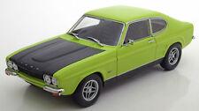 MINICHAMPS 1970 Ford Capri I RS 2600 Light Green 1:18 (NEW STOCK)