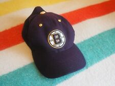 BOSTON BRUINS American Needle Dark Brown Bear Patch Hat Unisex Small Medium EUC