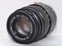 [Excellent+++] Leitz M Rokkor 90mm f/4 Lens for Leica CLE M Mount from JAPAN