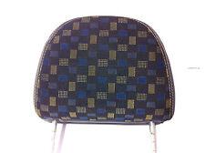 MG ZR Front head rest Blue/yellow Matrix HAH000170WTJ