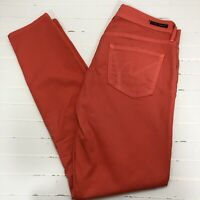 """Citizens of Humanity Medium Rise 29"""" Skinny Salmon Stretch Jeans"""