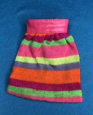 Vintage Barbie Friend Stacey Sears Exc STRIPES ARE HAPPENIN Striped Skirt #1545
