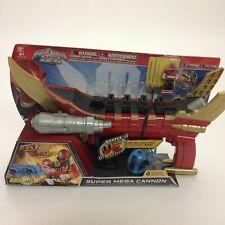 Power Rangers Super Megaforce Super Mega Cannon Rare HTF - New in Package