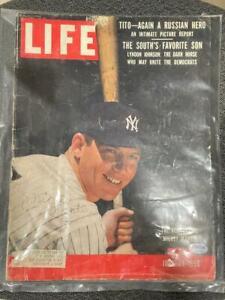 MICKEY MANTLE SIGNED LIFE MAGAZINE AUTO JUNE 25 1965 FULL MAGAZINE - PSA/DNA COA
