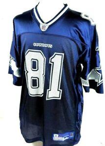 Reebok NFL Equipment Dallas Cowboys Owens #81 Football Jersey NWT NEW