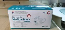 50 PCS 3 Ply Face Mask medical Surgical Dental Disposable Ear-loop Mouth Cover