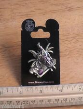 Sleeping Beauty Disney Pin MOC Maleficent Villain Steam Punk 3-D