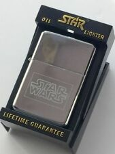 Personalised Star Wars Star Silver Petrol Lighter (Tg14)