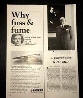 Life Magazine Ad PARKER PENS 1965 Ad V2