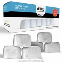 DI ORO Replacement Charcoal Water Filters for Keurig 2.0 (6 Pack)
